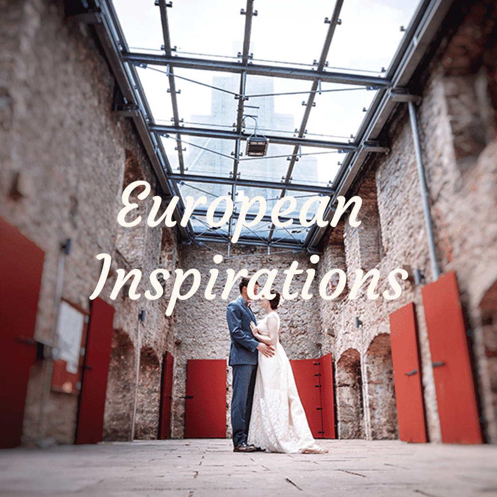 European Inspired Bridal Collections