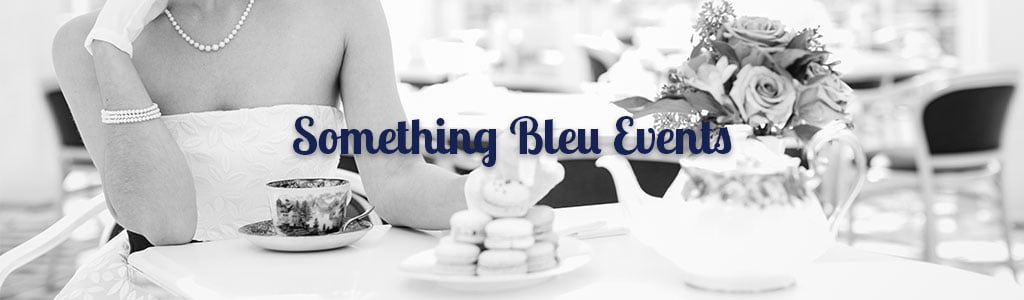 saratoga springs ny bridal events at something bleu calendar banner with bride and tea pot
