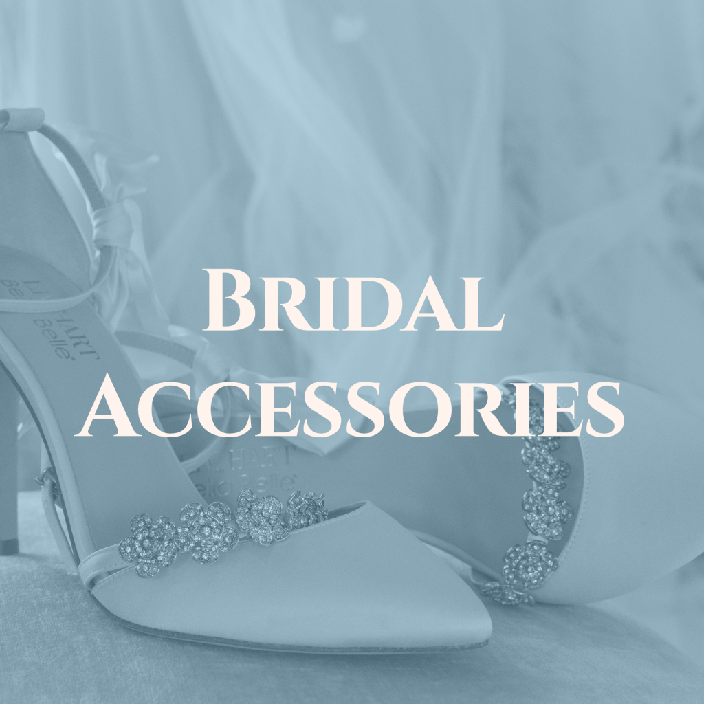 shop bridal accessories, statement jewlery, veils, and shoes in saratoga springs ny