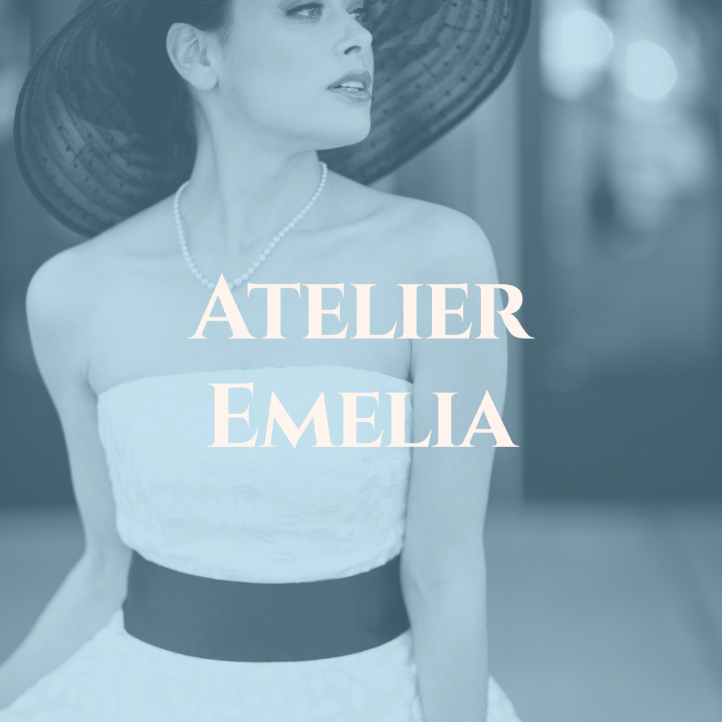 click through image to see wedding dresses by atelier emelia
