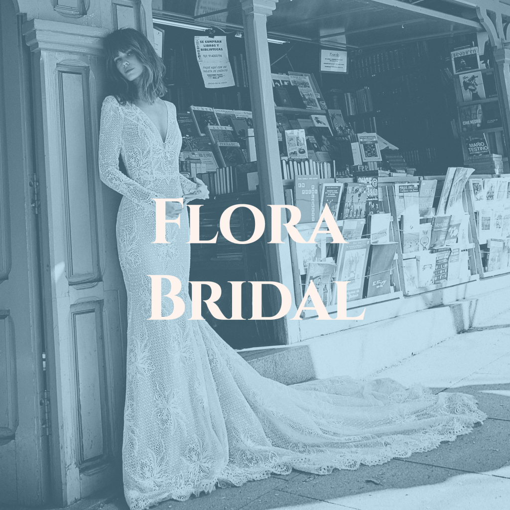 Flora Bridal Designer Boho Wedding Dresses