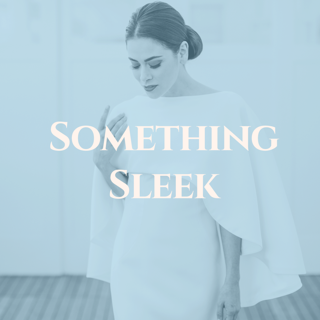 click to shop sleek, modern wedding dresses in upstate ny